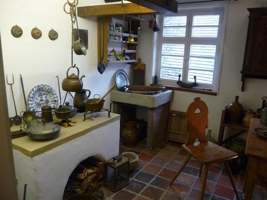 Silchermuseum: So könnte um 1800 seine Küche ausgesehen haben. Bild: Peter Sklorz